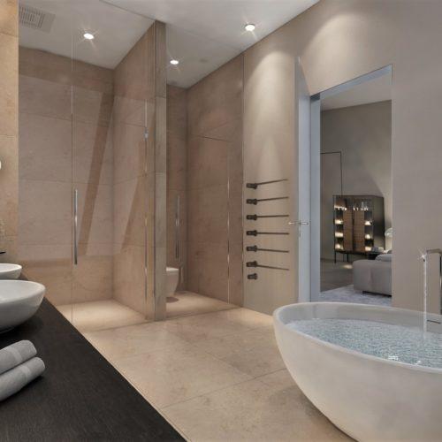 Badezimmer Rendering Visuals Concept